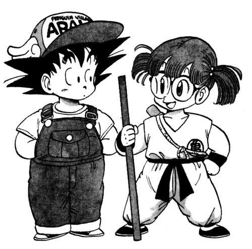 Goku//Arale