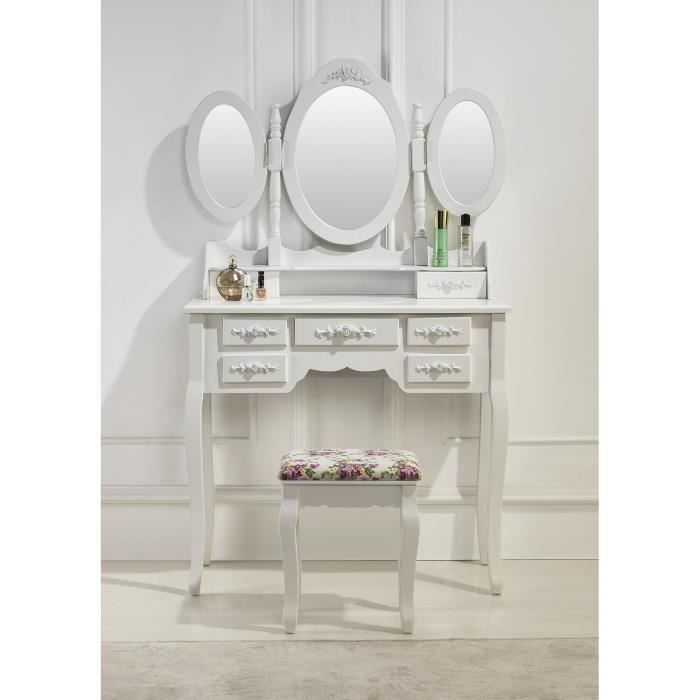 les 25 meilleures id es de la cat gorie coiffeuse avec miroir sur pinterest tabouret coiffeuse. Black Bedroom Furniture Sets. Home Design Ideas