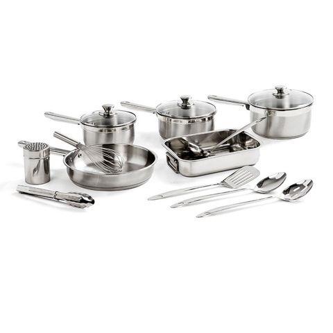 Stainless Steel Cookset - 12 Piece | Kmart