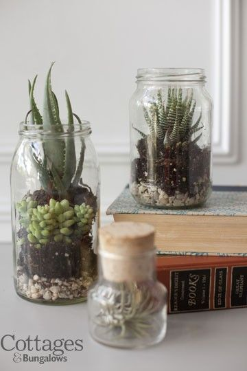 9 Nifty Jar Crafts: Cottage Style Decorating DIY Project – Home Magazine