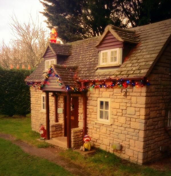 Victoria House - our children's playhouse!