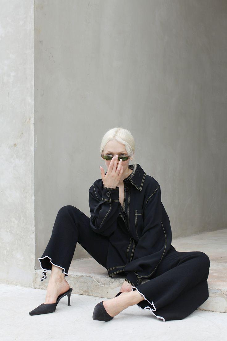 Love Aesthetics / Black Contrast Stitching for Vulture Magazine