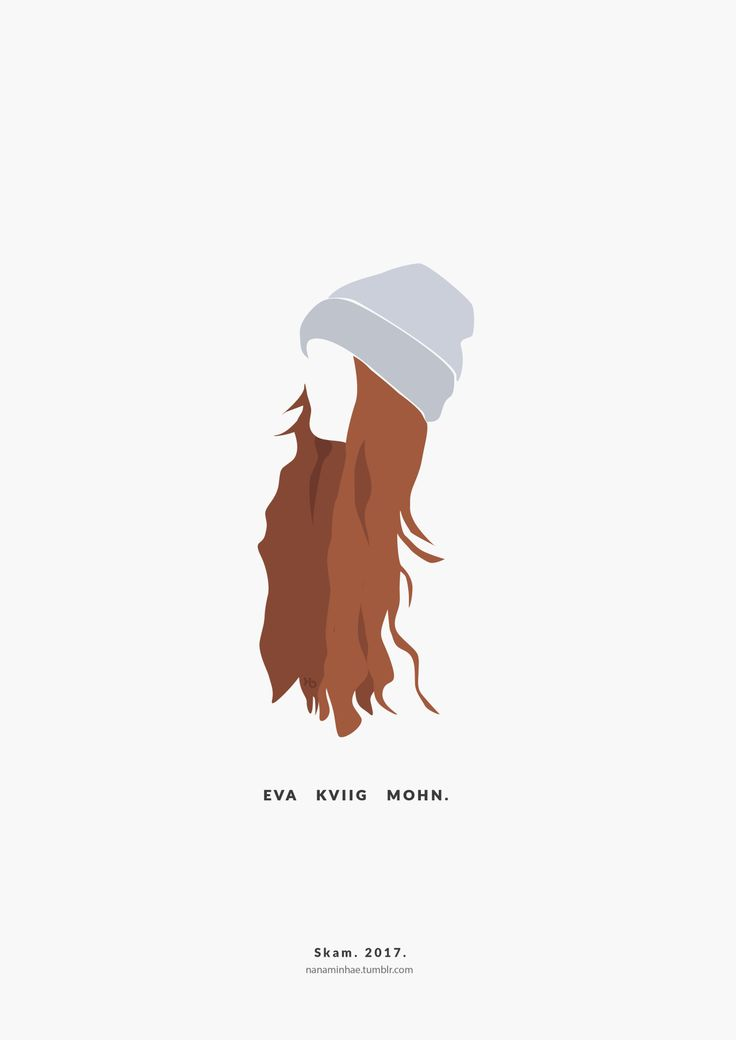Eva Kviig Mohn Ver II. SKAM. 2017. __________minimal project - ( Part 34 ) Source: nanaminhae.tumblr.com (please always credit me!) Buy it here: REDBUBBLE and my IG is brbrgraphics