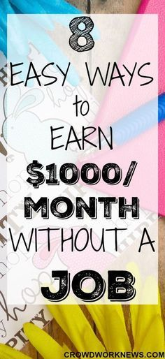 Whether you are a stay at home mom or a student or anyone trying to make money online, it is POSSIBLE TO MAKE MONEY FROM HOME.Find out how you can earn $1000/month online without having an actual job. These are totally legitimate and easy ways to make money from home.