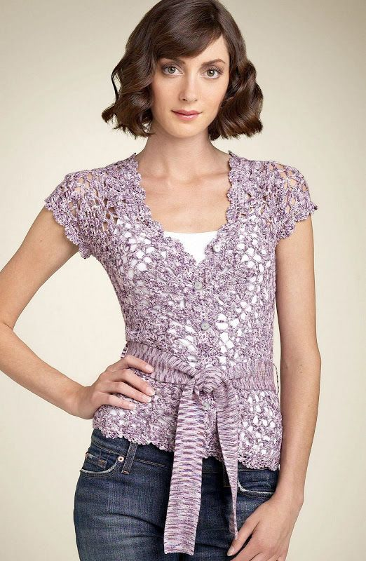 25+ best ideas about Crochet shirt on Pinterest Crochet ...