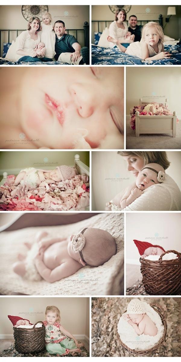Newborn session ideas