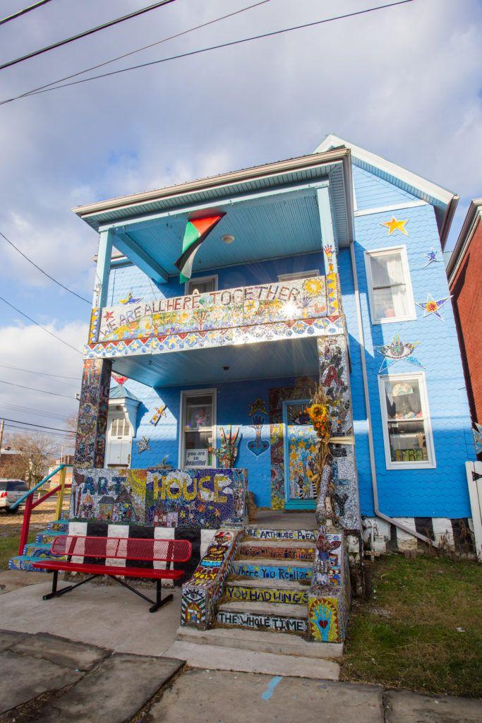 Vanessa German's Art House. Photo by Sean Carroll