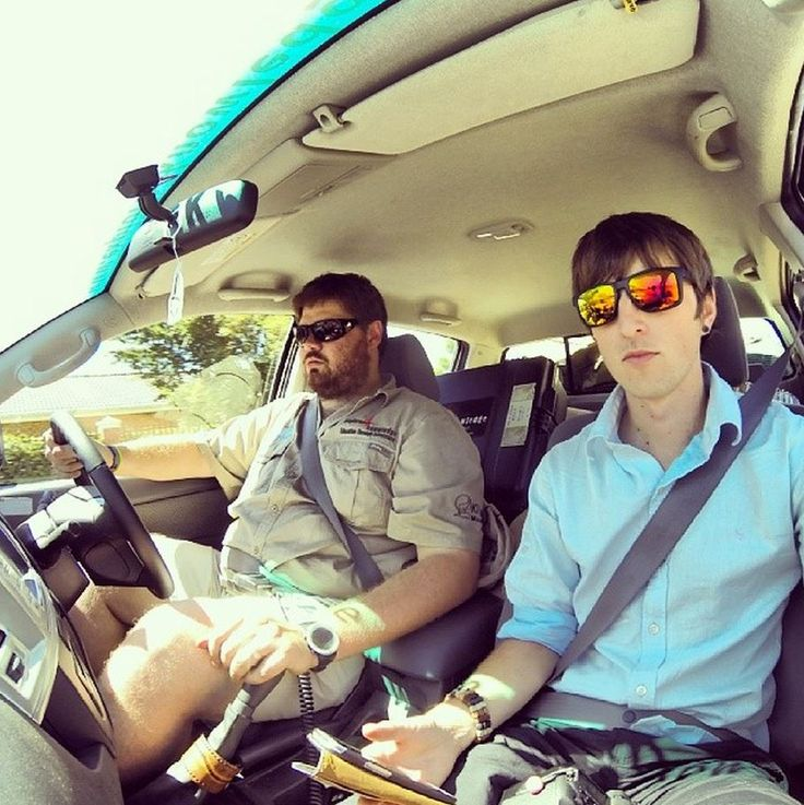 #e4k_JohnLucas and #DylanHaskin on of the #Explore4Knowledge official #Photographers capturing us driving in the #Toyota #Hilux on a #GoPro #WOHZA