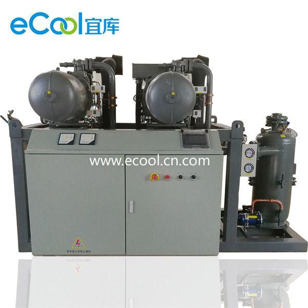 Compressorunit High Temperature Screw Type Multi Compressor Unit Evaporating Temperature To 15 15 Refrigeration Capa The Unit Compressor Temperatures