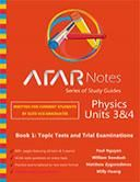 ATAR Notes Physics 3 and 4. Topic tests, trial exams and solutions manuals.