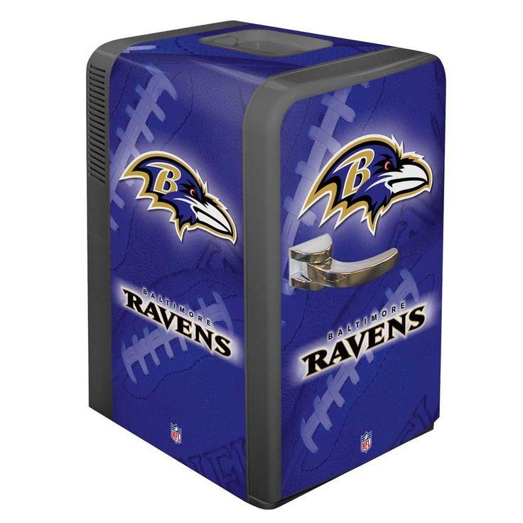 Baltimore Ravens Portable Party Hot/Cold Fridge