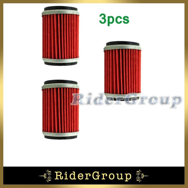 3x Fuel Oil Filter For Yamaha WR250F YZ250F WR450F Z450F 2003-2015 WR250X\R 2008-2015 Motorcycle Pit Dirt Trail Bike