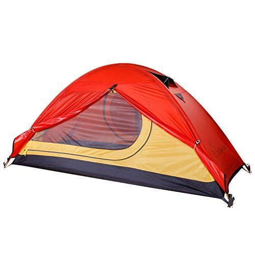 WolfWise 1-Person Solo Lightweight Backpacking Tent for C&ing Hiking Backpacking - WolfWise 1-Person Lightweight Backpacking Tent ? 2 aligned douu2026  sc 1 st  Pinterest & WolfWise 1-Person Solo Lightweight Backpacking Tent for Camping ...