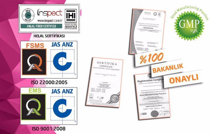 diamondslim sertifikalar