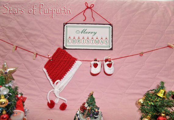 Baby set of retro style. For the Christmas season or any time of year.