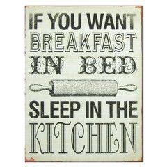 PLACA breakfast in bed 26X35 | Mimub.com