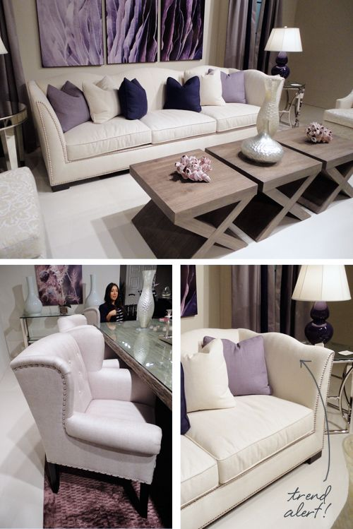 Purple and Silver home decor♥it