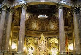 Ventura Rodriguez Capilla baldaquino de la Virgen del Pilar
