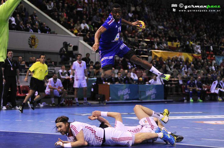 FRANCIA  - CROACIA Cuartos de final 23 er. Campeonato del Mundo de Balonmano Masculino -  23ENE2013 - Pabellón Príncipe Felipe - Zaragoza - España