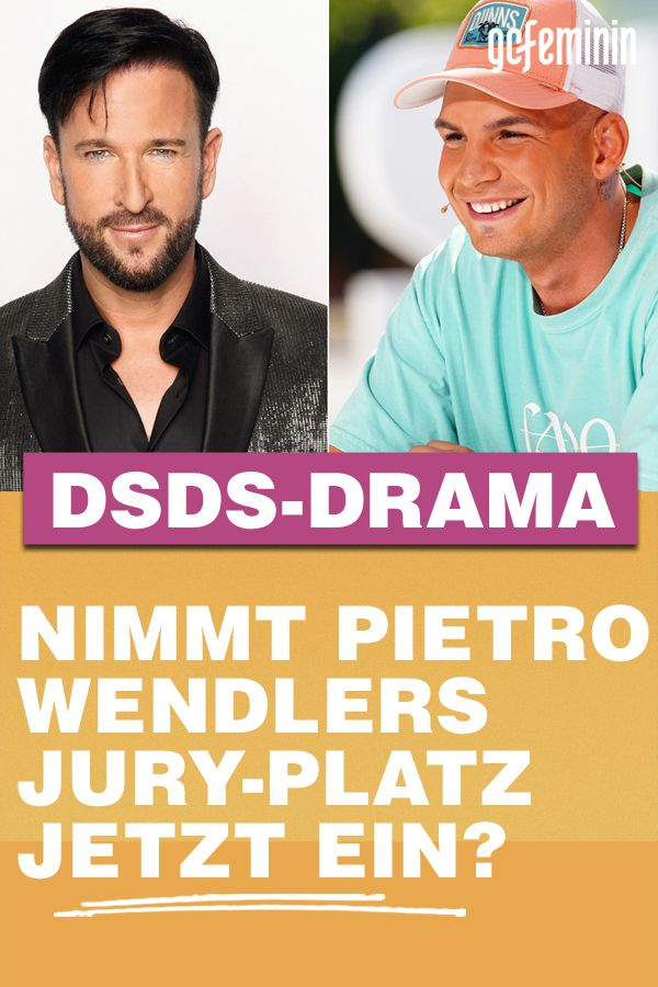 Wendler Versetzt Dsds Kehrt Pietro Lombardi Jetzt Zuruck Dsds Dsds Jury Pietro Lombardi