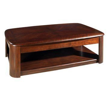 Steve Silver Lidya Rectangular Cherry Wood Lift Top Coffee Table With Casters By Steve Silver