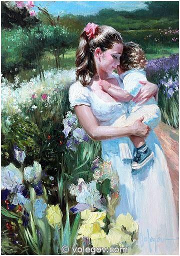 Vladimir Volegov 53. Summer (2011) *SOLD* http://www.volegov.com/summer-painting/