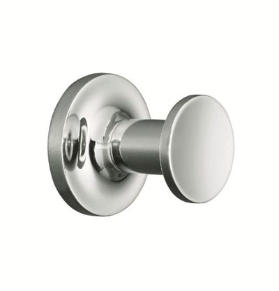Purist® Robe Hook    Features:    Premium metal construction for durability and reliability  KOHLER finishes resist corrosion and tarnishing  Tools and drilling template included for easy installation  Polished chrome  No visible fixings  Completes Purist design solution with KOHLER tapware and fixtures
