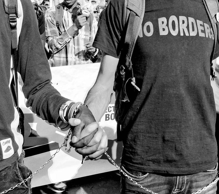 No Borders, Roma, 1° riScatto Urbano di Unoscribacchino. Saranno conteggiati i RT al seguente tweet: https://twitter.com/unoscribacchino/status/958808404298031110