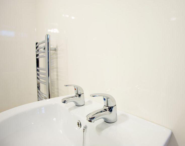 10 White Wall & Ceiling Panels Bathroom Wall Cladding PVC Plastic Cladding