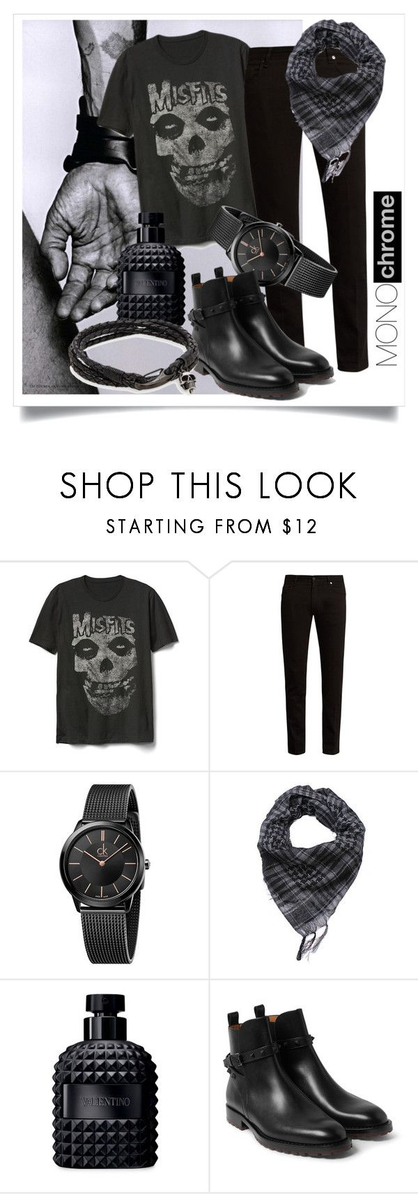 """""""Misfit"""" by janolive on Polyvore featuring Gap, Fendi, Calvin Klein, Valentino, Jan Leslie, men's fashion and menswear"""