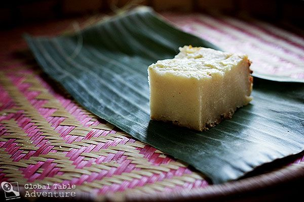 """Cassava """"Pudding,"""" adapted for the home oven 