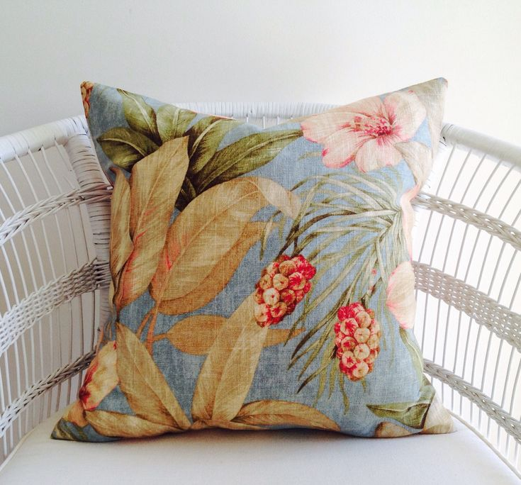 A personal favourite from my Etsy shop https://www.etsy.com/au/listing/573979364/aqua-hibiscus-cushion-cover