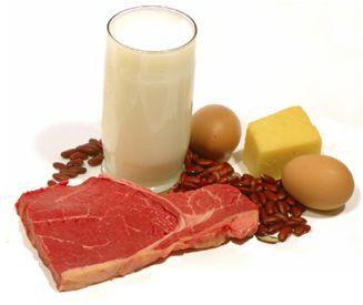 Protein är de byggstenar kroppen använder för att bygga upp och reparera vävnad. Detta inkluderar bevarande och bildande av muskelmassa. För att få en god avkastning på sin träning är det alltså viktigt att tillse att man har ett tillräckligt proteinintag. En bra tumregel att försöka förhålla sig till är att få i sig minst 2 g protein per kilo kroppsvikt varje dag.
