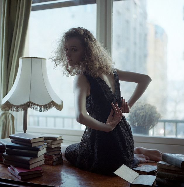 Shooting Film: Beautiful Fashion Portrait Medium Format Film Photography by Hannah Häseker