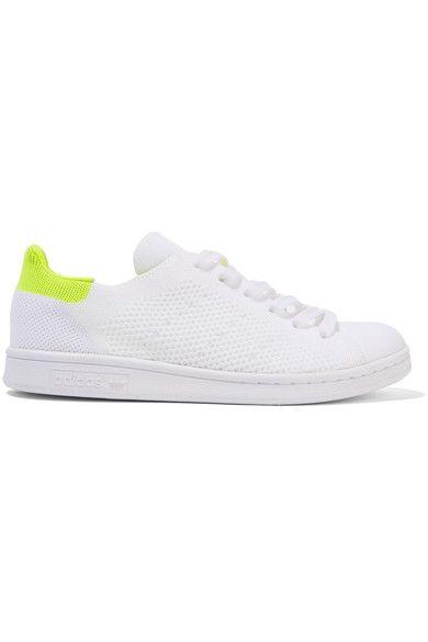 adidas Originals - Stan Smith Boost Primeknit Sneakers - White - US8.5