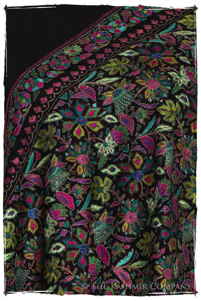 The Rare Orchid - Grand Jamawar Pashmina Shawl