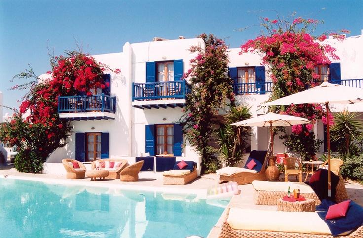 Dionysos Hotel, Mykonos, Greece, Mediterranean.