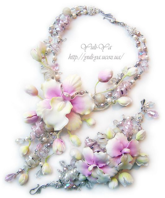 The princess a dream - necklace and bracelet1 by Yuli-Ya, via Flickr