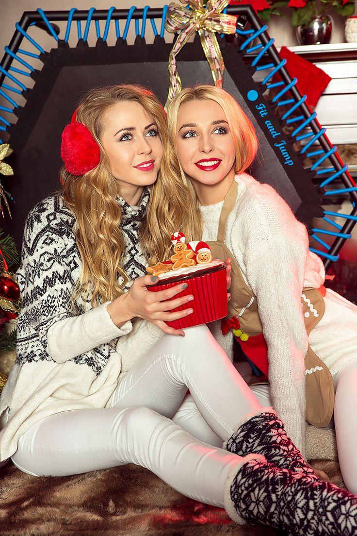 Wyczekujemy świąt! <3 #christmass #trampoline #prezent #święta #fitandjump #polishgirls