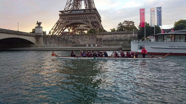 Thames DBC and Friends conquer Paris - Thames Dragons