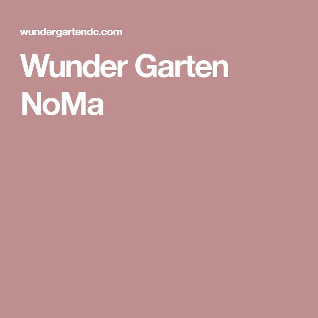 Wunder Garten NoMa