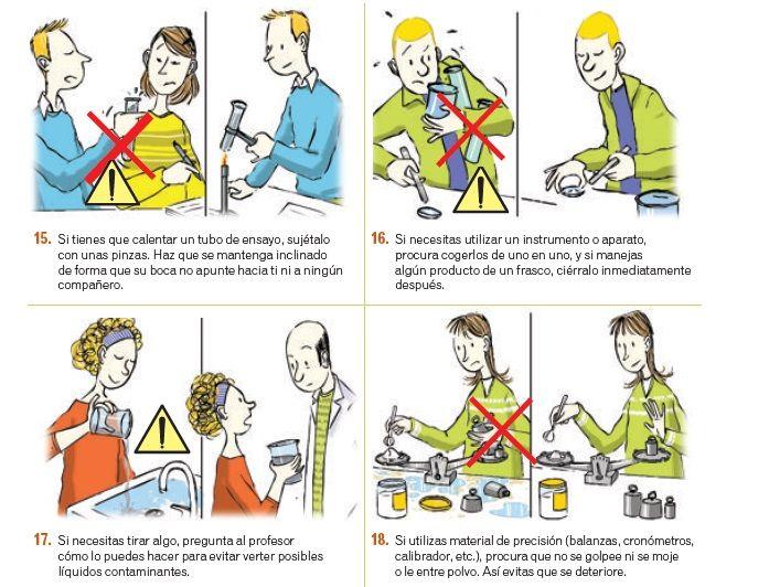 El Laboratorio De Fisica Y Quimica Seguridad E Higiene En El Laboratorio Comics Leslie