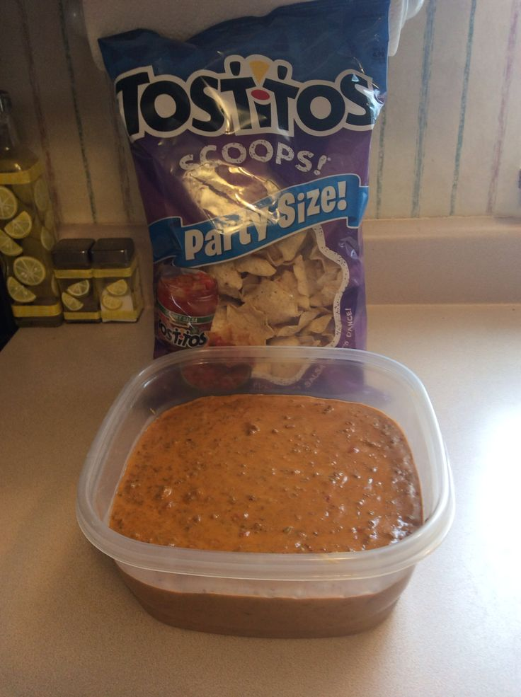 Easy chili cheese dip. Great for pot lucks and parties ...