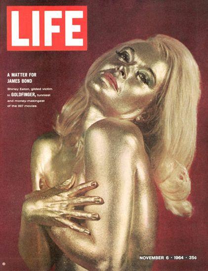 Life Magazine Copyright 1964 James Bond Goldfinger - Mad Men Art: The 1891-1970…