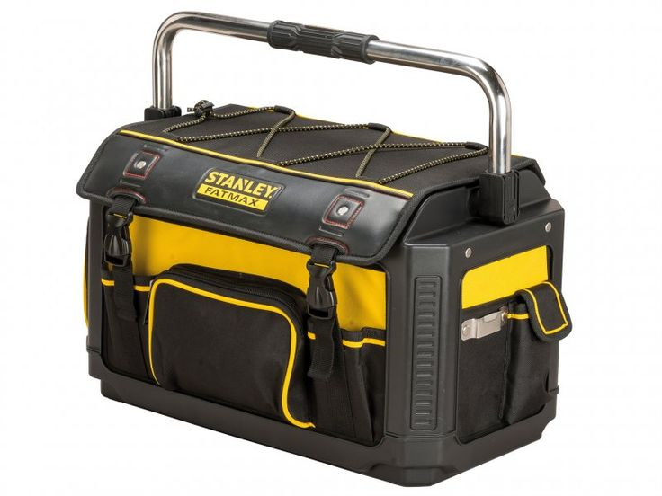 Stanley Tools Fatmax Plastic Fabric Open Tote Cw Cover 490 X 280 X 310mm, STA179213 at D&M Tools