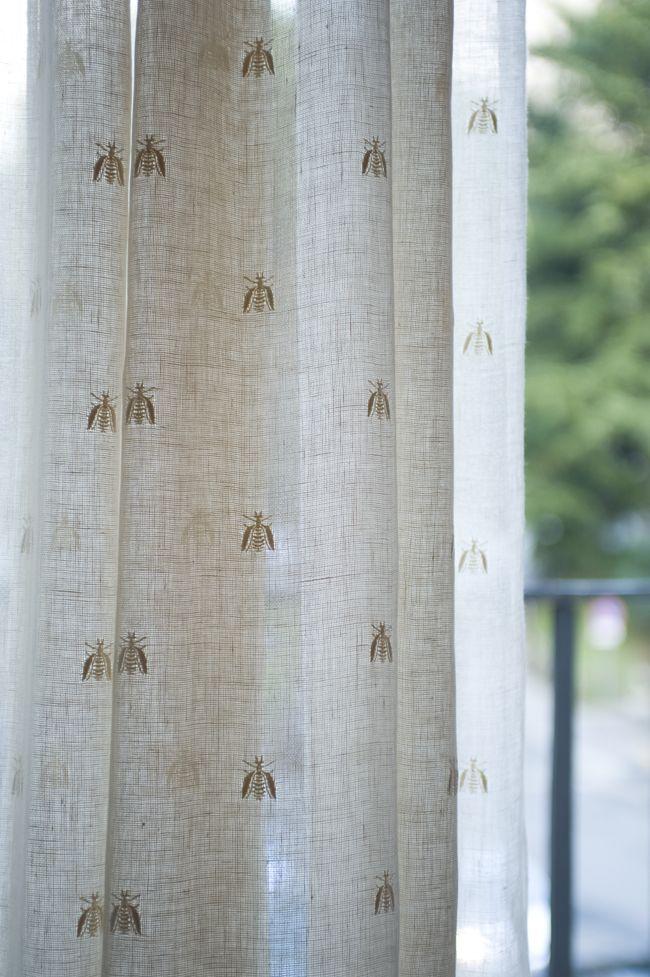 Mastro Raphael, Api, Bee, lino, linen, tende, curtains