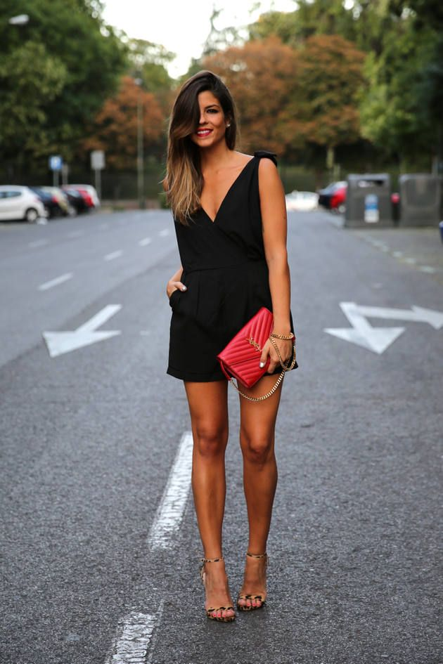 Love her hair, makeup and cute outfit! Women's fashion clothing outfit for dates shopping movies.
