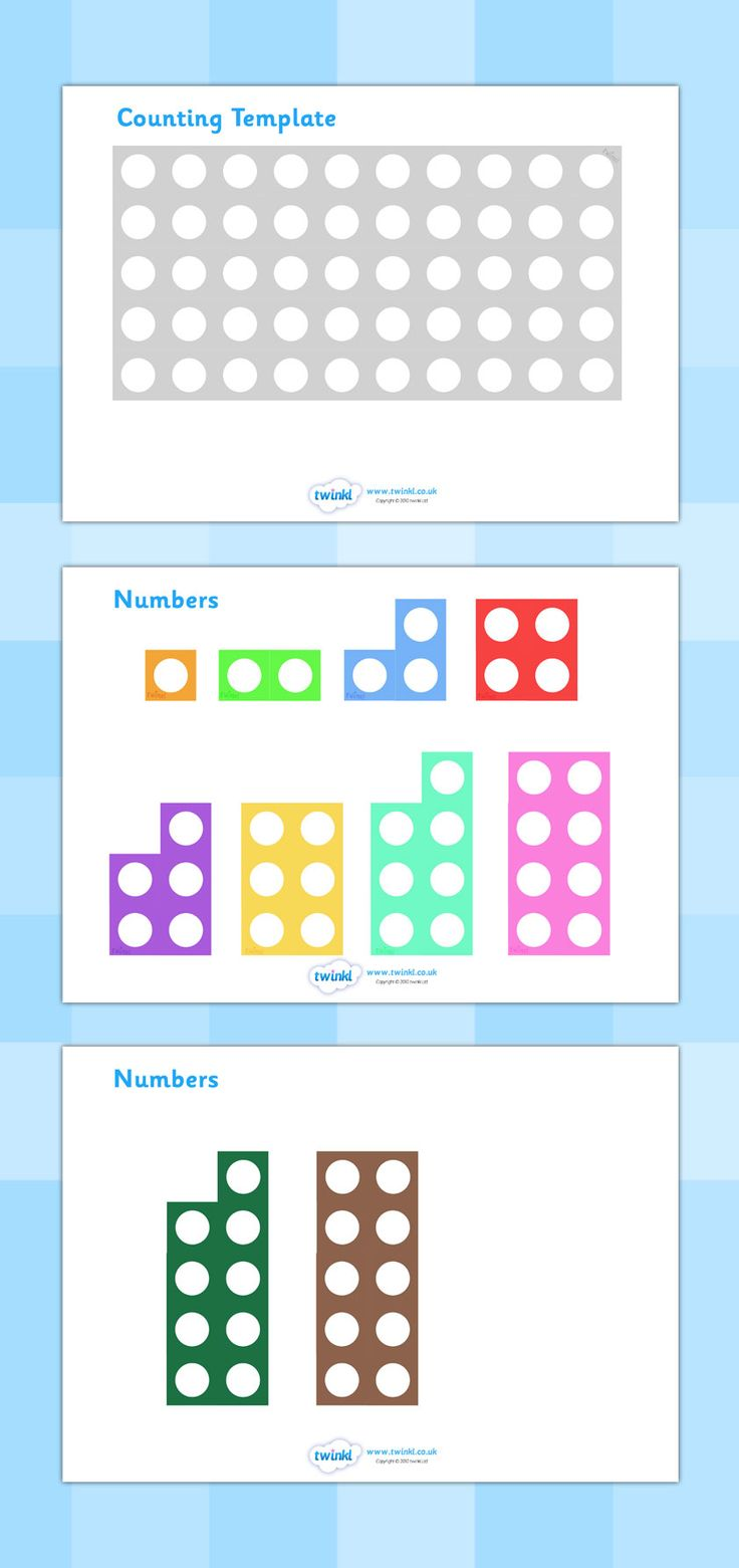 Twinkl Resources >> Counting Number Shapes >> Classroom