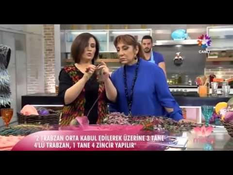 Tülin İriş Yaprak ve Çiçekli Örgüler - 27.11.2014 - YouTube