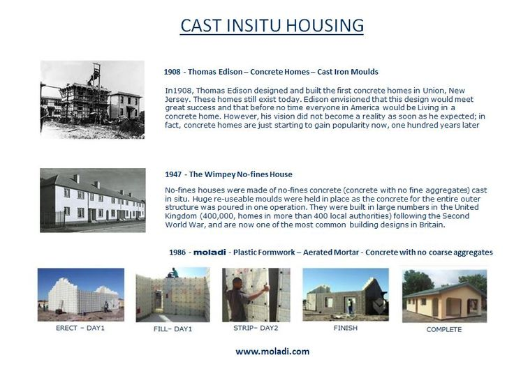 Reduce cost of housing construction moladi